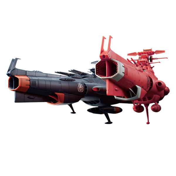 1/1000 우주전함 야마토 2202 - 지구연방 주력 전함 드레드노트급 화성 절대 방어선 세트 [3월입고완료] [4573102567581]