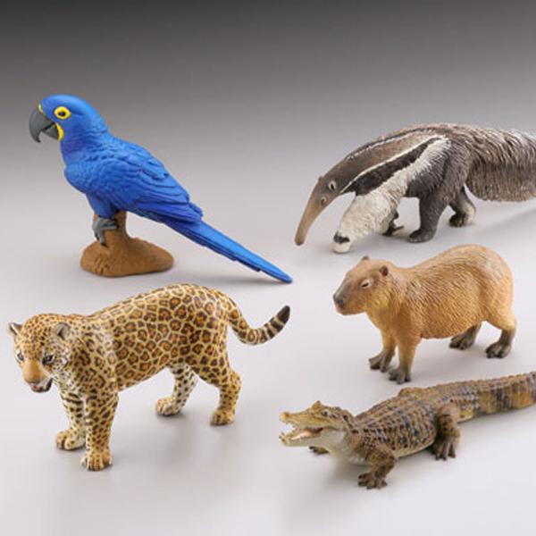 WILD RUSH 진 세계 동물 잡지II 제 2장 남아메리카 아마존 편(1박스12개입) [6월입고예정] [4537807082343]