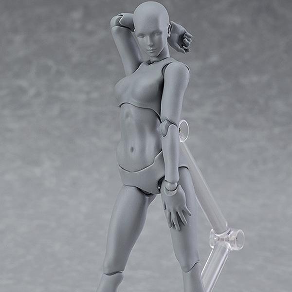 [피그마] 아키타입 next:여자 그레이 컬러 ver. [2월입고예정] [4545784064368]