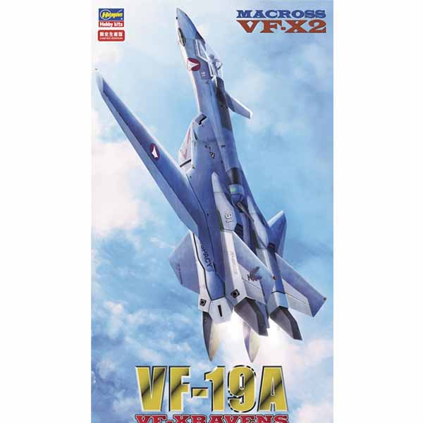 1/72 마크로스 - VF-19A(VF-X레이븐) [4월재판/5월입고예정] [4967834657595]