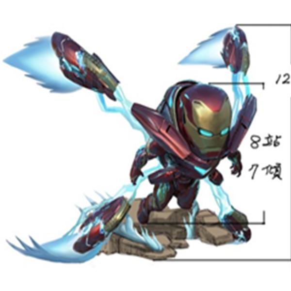 에그어택 미니 어벤져스 : 인피니티 워 - 아이언맨 마크50 [5~6월입고예정]
