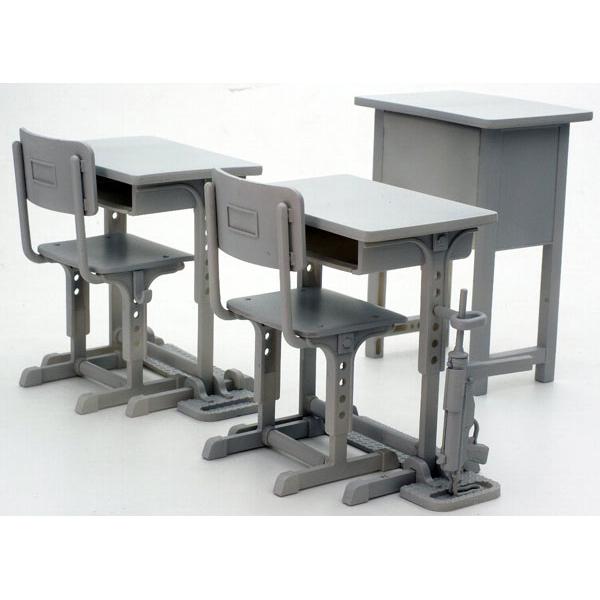 [리틀아모리][LD011] 지정방위 학교의 책상,그리스건 세트 [2월입고완료] [4543736282327]