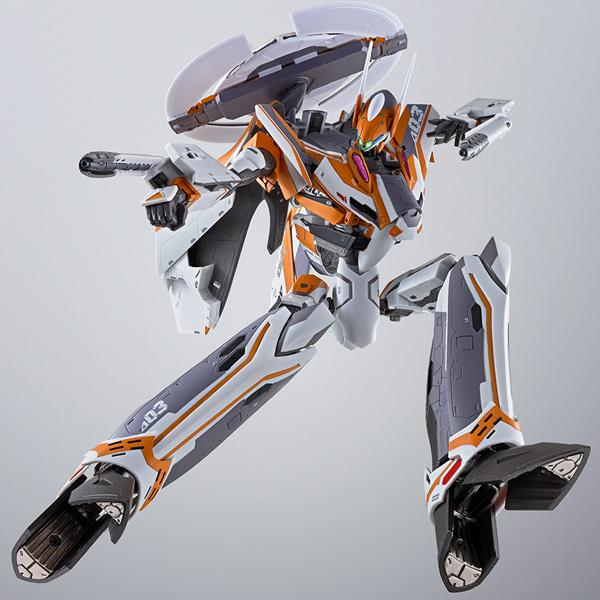 DX 초합금 마크로스 델타 - VF-31F 지크프리드 척 머스탱기 [8월입고완료] [4573102556523]