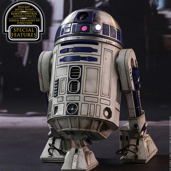 MMS408 1/6 스타워즈 - R2-D2 [9월입고완료]