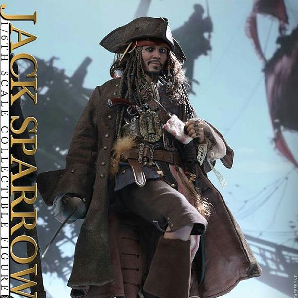 DX15 캐리비안의 해적 : 죽은자는 말이 없다 - 캡틴 잭 스패로우 [18년1분기발매예정]