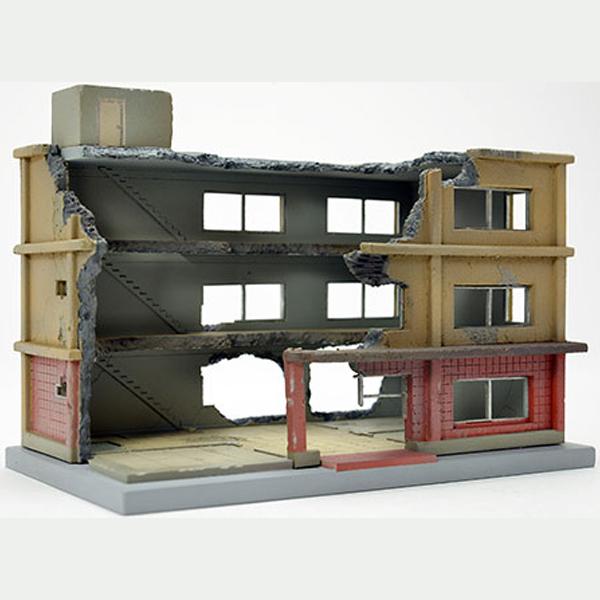 1/150 디오라마 콜렉션 건물 콜렉션 152 해체중 건물 B [8월입고완료] [4543736267591]