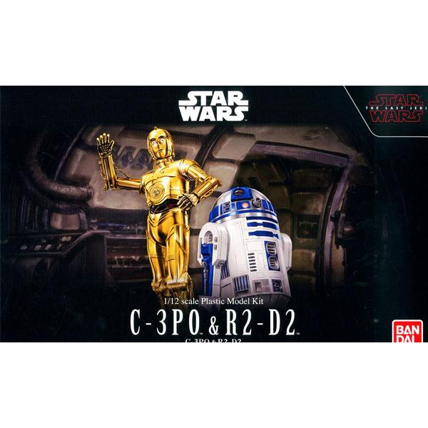 1/12 스타워즈 C-3PO & R2-D2 [10월입고완료] [4549660232971]