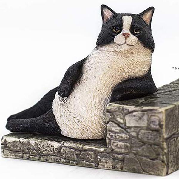 1/6 고양이 거리 이야기 시리즈 제2탄 한가로운 고양이 - 턱시도 고양이 [10월입고완료] [6972508520066]