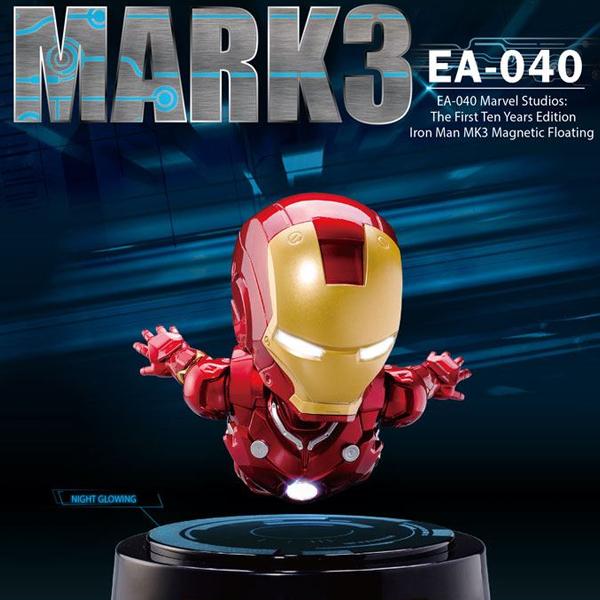 [개봉] 에그어택 EA-040  아이언맨 마크3 마그네틱 플로팅(메탈릭) [2월입고완료] [4718006558857]