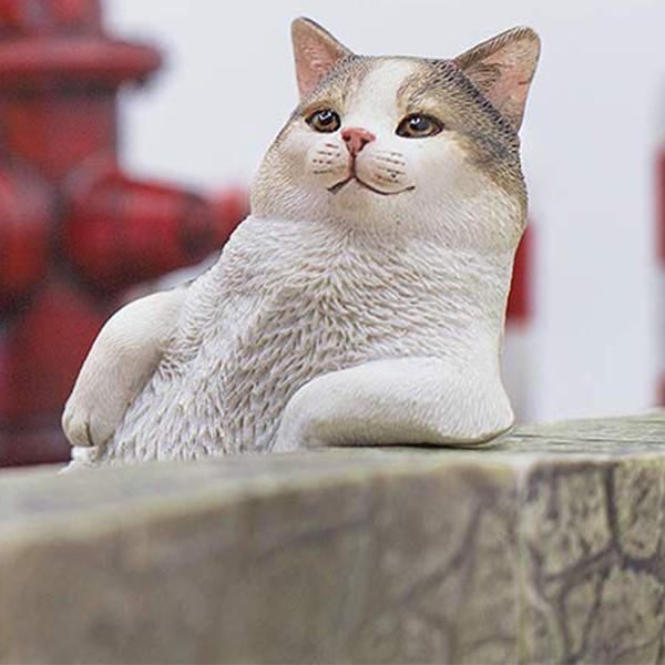 1/6 고양이 거리 이야기 시리즈 제2탄 한가로운 고양이 - 키지시로 [10월입고완료] [6972508520059]