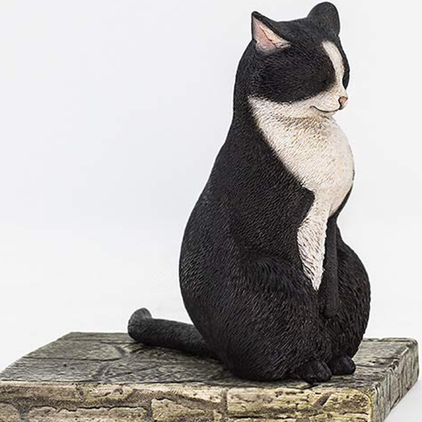 1/6 고양이 거리 이야기 시리즈 제1탄 명상 고양이 - 턱시도 고양이 [10월입고완료] [6972508520035]