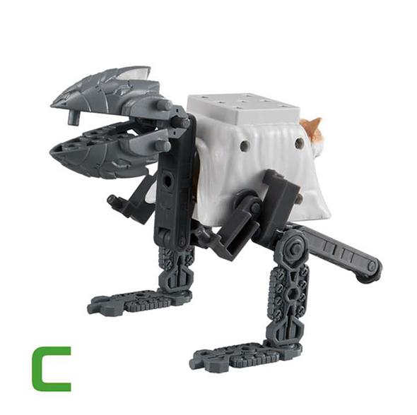 고양이 무장 3탄(C) [4월입고완료] [4573102568021]