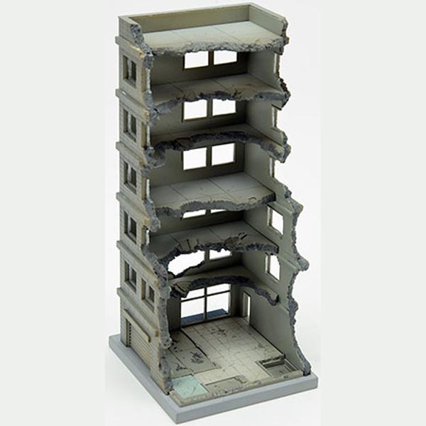 1/150 디오라마 콜렉션 건물 콜렉션 151 해체중 건물 A [8월입고완료] [4543736267584]