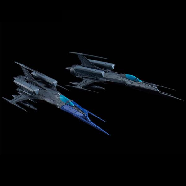 [메카콜렉션] 우주전함 야마토 - 영식 52형改 자율 무인 전투기 블랙버드 세트 [4월발매/5월입고예정] [4573102576576]