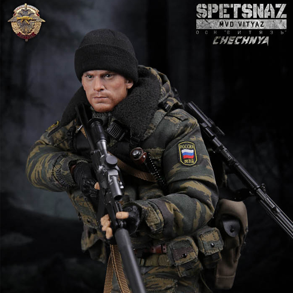 Damtoys - SPETSNAZ MVD OSN VITYAZ IN CHECHNYA (78028) [11월입고완료]