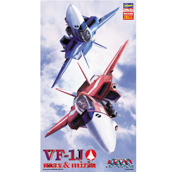 1/72 마크로스 - VF-1J 발키리 맥스7미리아 기 [9월재판/10월입고예정] [4967834657632]