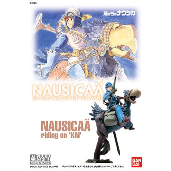 [지브리 프라모델] 1/20 바람의 계곡 나우시카 -카이 (Nausicaa W/Kai) [11월입고완료] [4543112249074]
