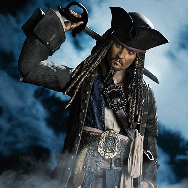 [S.H.Figuarts] 캐리비안의 해적 - 캡틴 잭 스패로우 [8월입고완료] [4549660147756]