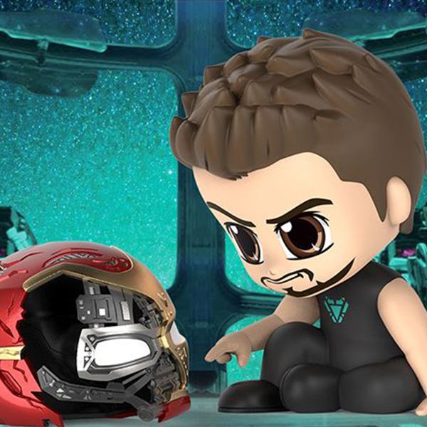COSB653 코스베이비 어벤져스:엔드게임 - 토니 스타크 with 아이언맨 헬멧 with 배경 [4분기발매예정]