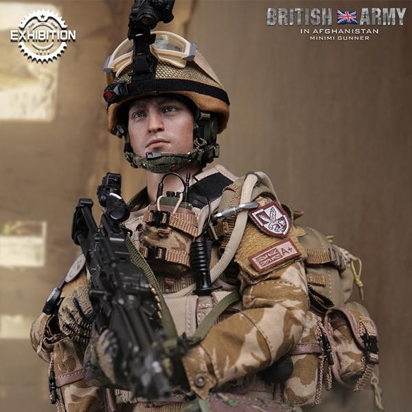 [한정판] 1/6 DAM78036 British ARMY In Afghanistan MINIMI Gunner [11월입고완료]