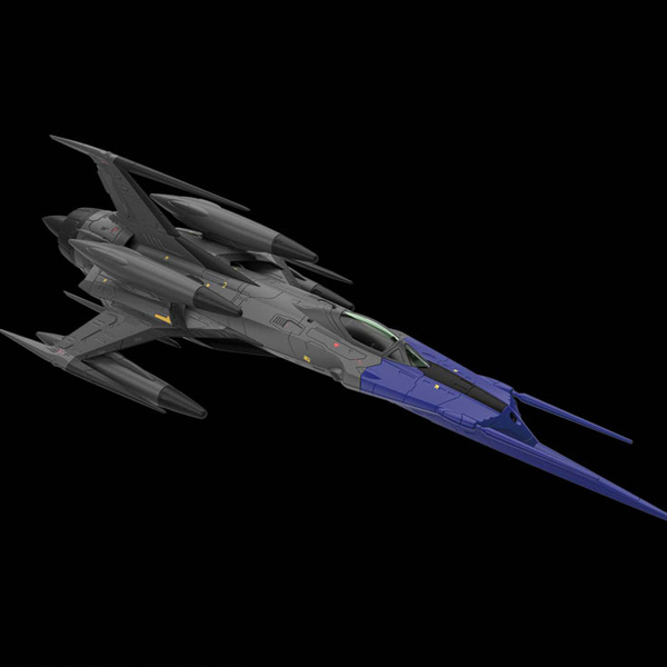 1/72 우주전함 야마토 - 영식 52형 카이 자율 무인 전투기 블랙버드 [19년4월입고예정] [4573102570673]