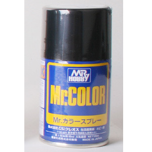 Mr.컬러스프레이 No.[78] METAL BLACK (메탈릭 블랙) [4973028835793]