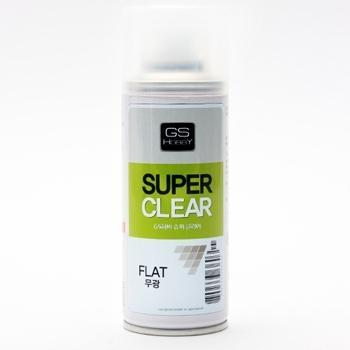 [GS하비] 무광 마감제 (SUPER CLEAR FLAT) 200ml (유성) [8809333360315]