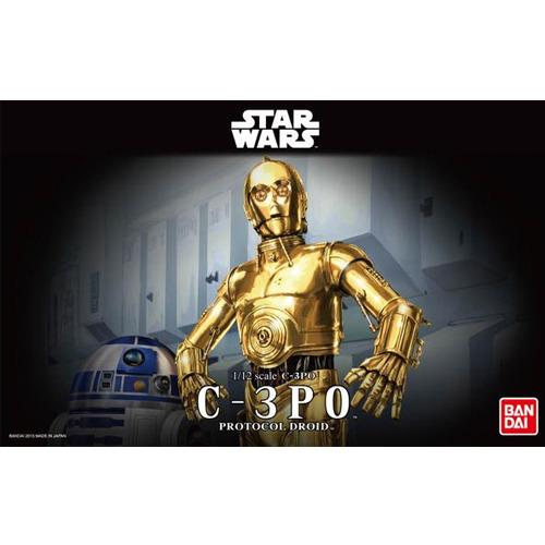 반다이프라모델 스타워즈 1/12 C-3PO [7월입고완료] [4543112964182]