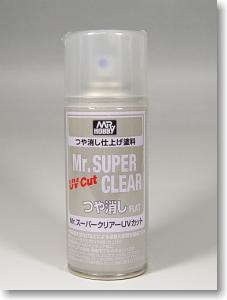 [B523] Mr.SUPER CLEAR UV CUT 무광 마감제 [4973028335439]