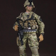 [30cm �и��͸� �DZԾ�] US ARMY SAW GUNNER IN AFGHANISTAN [78005] [4���԰�Ϸ�]