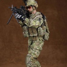 [30cm �и��͸� �DZԾ�] US ARMY SAW GUNNER IN AFGHANISTAN [78004] [4���԰�Ϸ�]