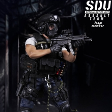 DAMTOYS - 1/6 - SDU(Special Duties Unit) ASSAULT TEAM - MEMBER [78026] [4���԰�Ϸ�]