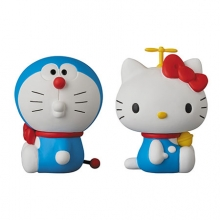 [UDF] NO.269 DORAEMON meets HELLO KITTY ���󿡸� ��� ŰƼ [9���԰?��] [4530956152691]