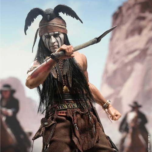 mms217 The Lone Ranger: 1/6th scale Tonto Collectible Figure [6���԰�Ϸ�]