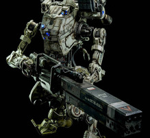 ThreeZero - 20 inch - Titanfall outer bone armor Titans - high-speed type (Stryder) & 6 inch driver [15��4�б�߸ſ���]